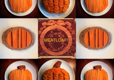 Meatloaf Pumpkins